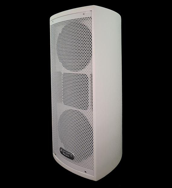caixa para sonorização de eventos e ambientes.
